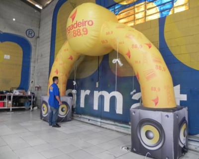 Arco Inflável Rádio Jangadeiro