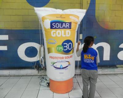 [Réplica Inflável Solar Gold e Kids - 2,00m]
