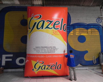 [Réplica Inflável Arroz Gazela - 5,00m]