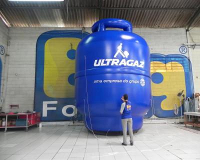 Réplica Inflável Ultragaz - 5,00m
