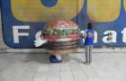 Fantasias ou Roupas Infláveis - Burger King - Hambúrguer  - Foto 2