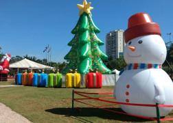 Natal Inflável em Guarulhos - Bosque Maia #VaiterArvore
