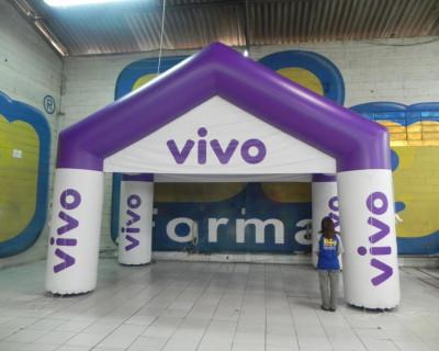 Tenda Inflável Vivo AB Telecom