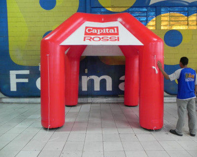 Tenda Inflável Capital Rossi