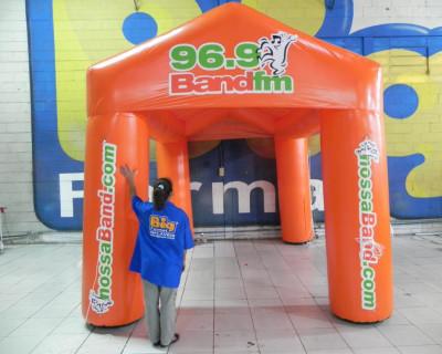 Tenda Inflável Band FM