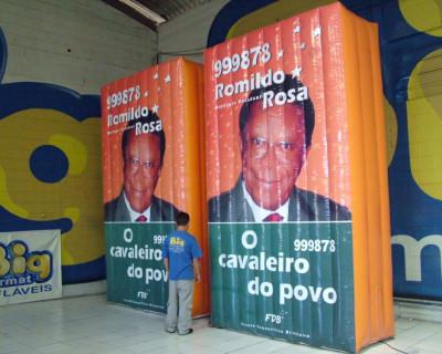 Campanha Política Inflável Romildo Rosa
