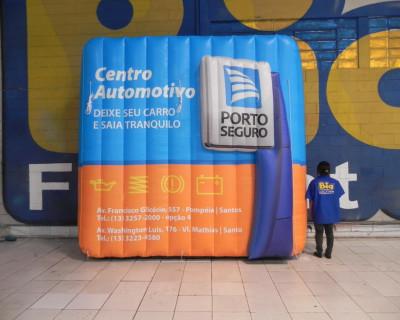 [Logomarca Inflável Porto Seguro]