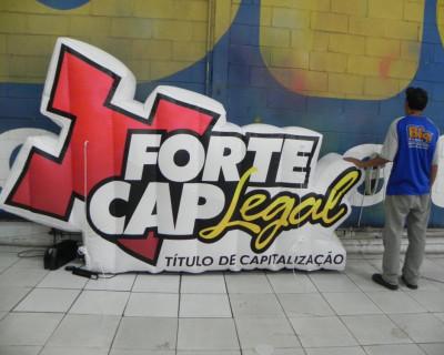 [Logomarca Inflável Forte Cap]