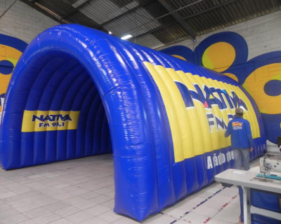 [Túnel Inflável Nativa FM 95,1]