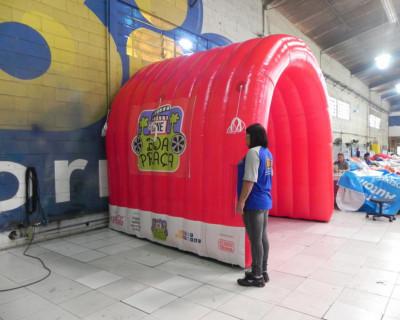 Túnel Inflável Cine Boa Praça