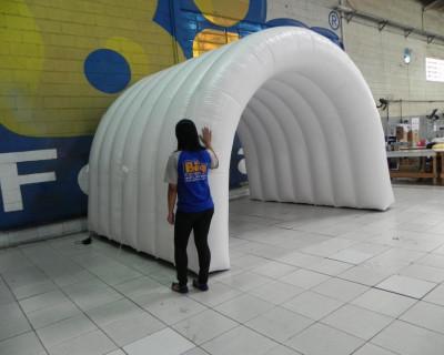 [Túnel Inflável L'oreal Brasil]