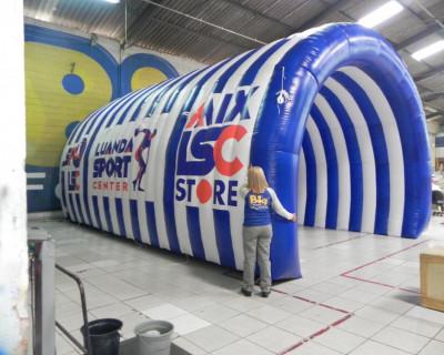 [Túnel Inflável Luanda Sport]