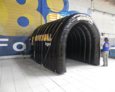 Túnel Inflável Mundial Fogos