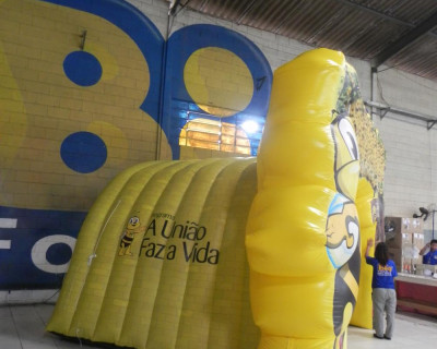 [Túnel Inflável Programa a União Faz a Vida]