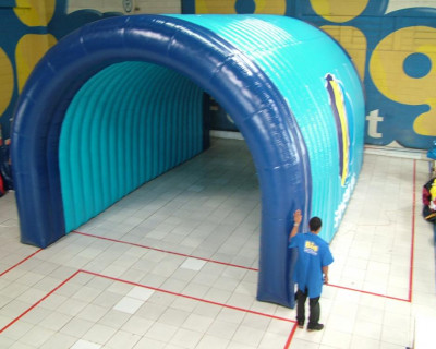 Túnel Inflável Sanetins