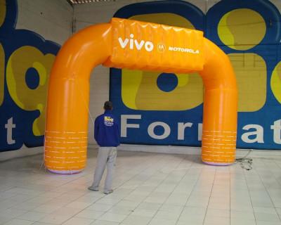 Portal / Pórtico Inflável Vivo Motorola