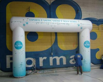 Portal / Pórtico Inflável Água Schin