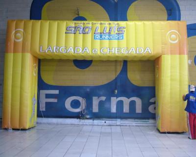 Portal / Pórtico Inflável Ultra -  São Luís Runners
