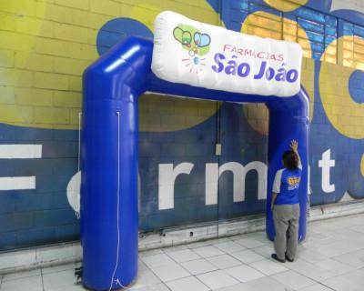 Portal / Pórtico Inflável Classic Plus - São João