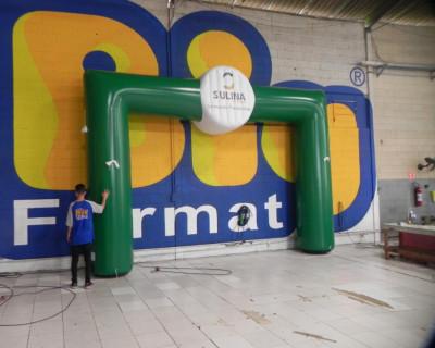 Portal / Pórtico Inflável Portal - Sulina Sementes