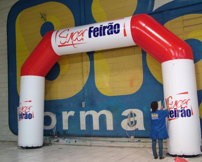 Portal / Pórtico Inflável Classic - Super Feirão