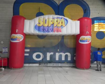 Portal / Pórtico Inflável Master - Supra FM