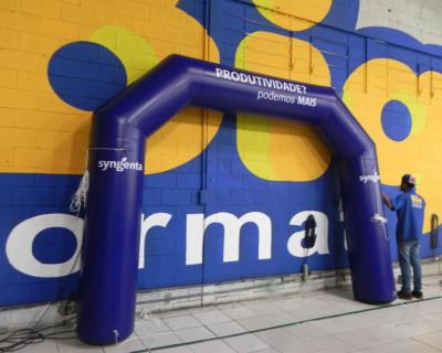 Portal / Pórtico Inflável Classic - Syngenta