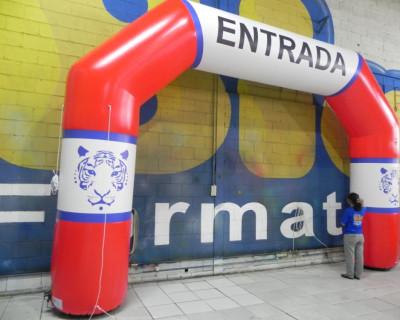 Portal / Pórtico Inflável Classic - Tigrão