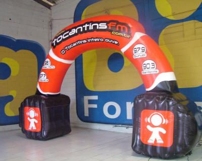 Portal / Pórtico Inflável - Tocantins FM