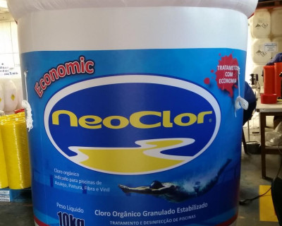 [Inflável Promocional Neo Color Economic - Réplica]