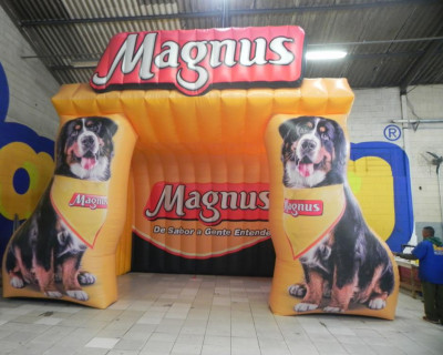 Tenda Inflável Magnus