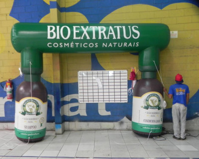 Inflável Promocional Bio Extratus