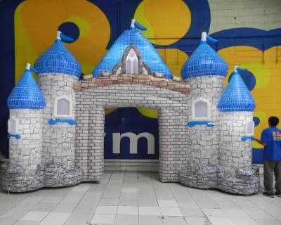 Portal Inflável Castelo