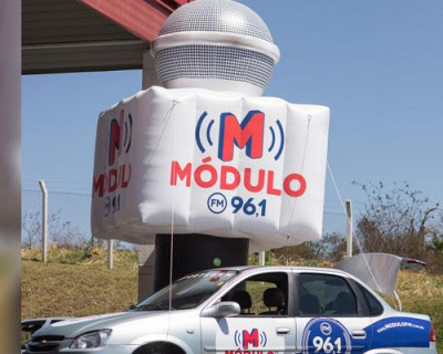 Totem Personalizado - Rádio Módulo FM96,1