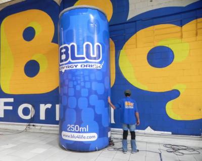 [Lata Inflável - Blu Energy Drink ]