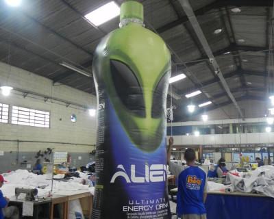 Réplica Garrafa - Alien