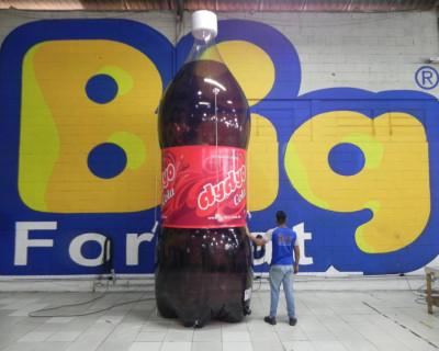 Réplica Garrafa Pet - Dydyo Cola