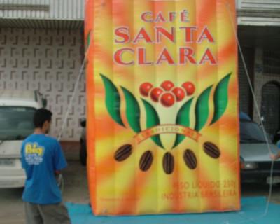[Réplica de Saco - Café Santa Clara]