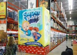 Marketing promocional no varejo: como incluir infláveis em supermercados
