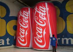 Opte pelos infláveis para uma publicidade com excelente custo