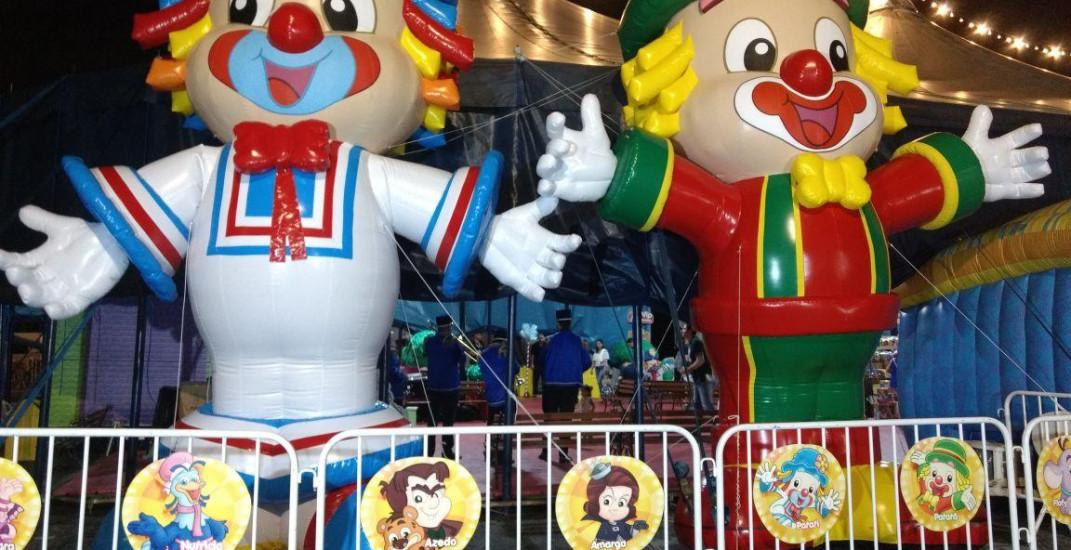 Torne seu evento mais interativo com personagens em infláveis.
