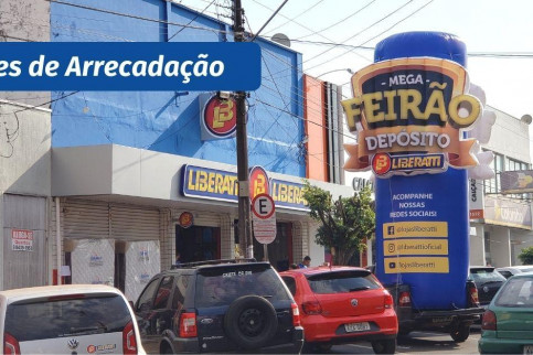 Infláveis para ações de arrecadação