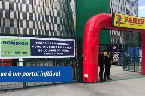 O que é um portal inflável?